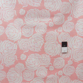 Annette Tatum PWAT080 Tailored Rose Coral Cotton Fabric By The Yard