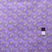 Victoria and Albert PWVA011 Garthwaite Scallop Purple Fabric By Yard