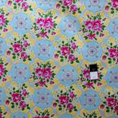 Jennifer Paganelli PWJP073 Circa Austin Blue Fabric By Yard