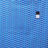 Jenean Morrison PWJM082 Beechwood Park Caravan Blue Fabric By Yd