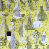 Erin McMorris PWEM050 Astrid Lena Chartreuse Fabric By The Yard