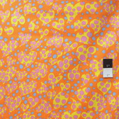 Brandon Mably PWBM033 Disco Dots Orange Quilt Cotton Fabric By The Yard