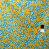 Brandon Mably PWBM033 Disco Dots Gold Quilt Cotton Fabric By The Yard