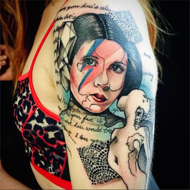 10 beautifully badass tattoos controse for Girls with badass tattoos