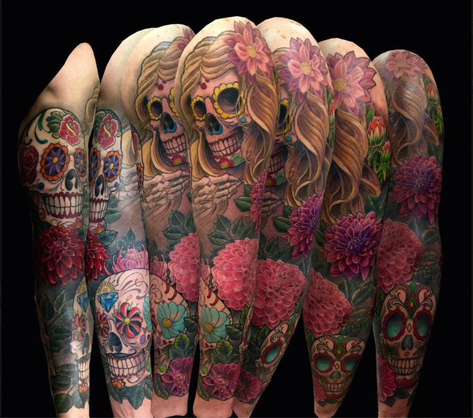 10 beautifully badass tattoos controse. Black Bedroom Furniture Sets. Home Design Ideas