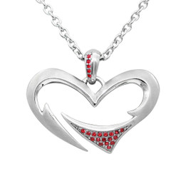 Tribal Love Heart Necklace