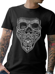"""""""Mourning Glory"""" Mens Cotton Tee"""
