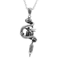 Tattoo Gun Machine Necklace