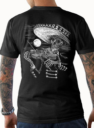 """""""Face The Music"""" Mens Cotton Tee"""