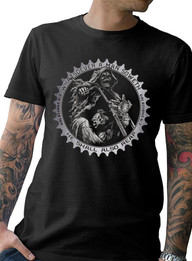 """""""Sketchy Times"""" Mens Cotton Tee"""