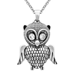 Angelic Owl Necklace
