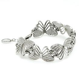 White Butterflies Bracelet