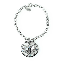 Butterfly Blues bracelet
