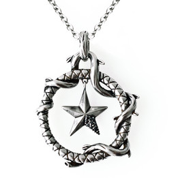 The Ringed Pentacle Necklace