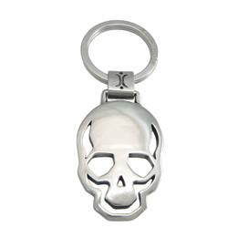 Skull Of Steel Key Ring