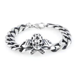 Skull & Cross Wrenches Bracelet