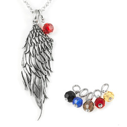 Dark Angel Wing Necklace (Multiple Options)