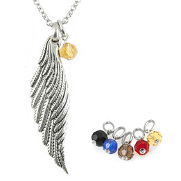 Light Angel Wing Necklace (Multiple Options)