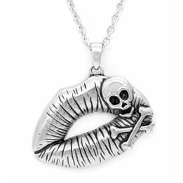 Poisonous Kiss Necklace