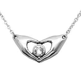 Friends Forever Petite Necklace - adorned with Swarovski Crystal