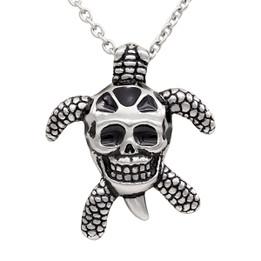 Tortoise Skull Necklace