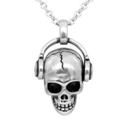 Rock 'N' Skull Necklace - Adorned with Swarovski Crystals