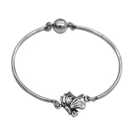Butterfly Bangle with Magnetic Clasp