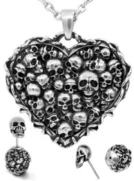 Captivated Souls Heart Skull Set