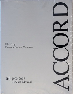 2003-2007 Service Manual Accord