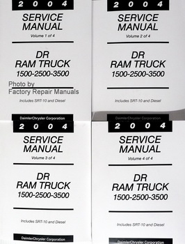 2004 Service Manual DR Ram Truck 1500-2500-3500