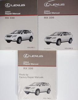 lexus rx330 repair manual pdf