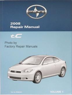 repair manual scion daily instruction manual guides u2022 rh testingwordpress co 2005 Scion tC 2007 Scion tC Maintenance