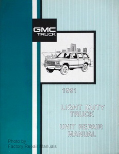 gmc truck service manuals original shop books factory repair manuals rh factoryrepairmanuals com gm factory service manual pdf gm factory service manual pdf