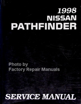 nissan service manuals original shop books factory repair manuals rh factoryrepairmanuals com 1999 Nissan Pathfinder Belt Diagram 1999 Nissan Pathfinder Fuse Box Diagram
