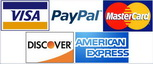 Pay Safe and Secure with All Major Credit Cards