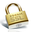 256 Bit Encryption for your security