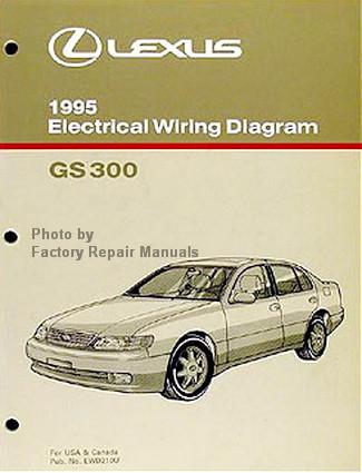 1995 lexus gs300 electrical wiring diagrams gs 300 original manual rh factoryrepairmanuals com 1995 Lexus GS300 Interior 1999 Lexus GS300 Interior