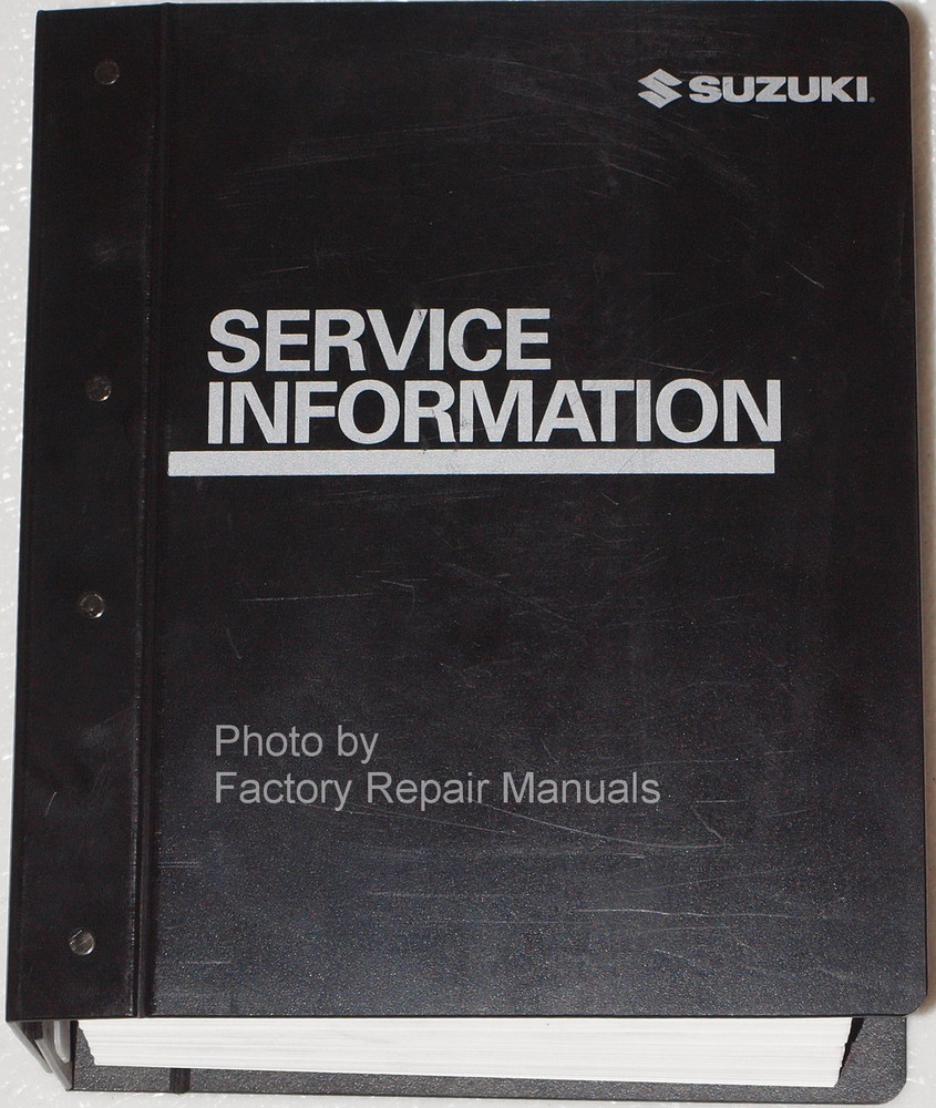 2005 suzuki forenza and reno factory service manual