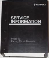 2005 Suzuki Forenza / Reno Factory Service Information