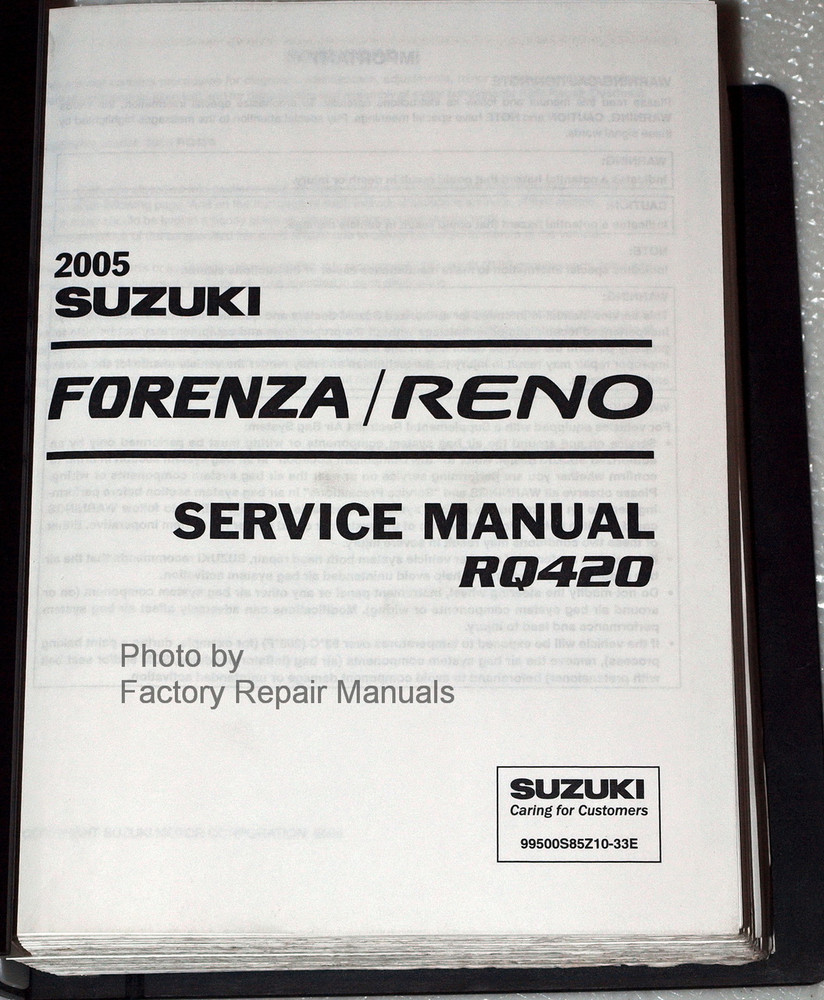 service manual suzuki forenza free owners manual u2022 rh wordworksbysea com 2006 Suzuki Forenza 2.0 Timing Marks 2006 Suzuki Forenza Recalls