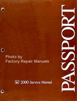 2000  Service Manual Honda Passport