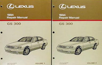 Lexus 1994 Repair Manuals GS 300