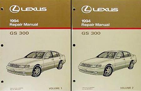 1994 lexus gs300 factory service manual set gs 300 shop repair rh factoryrepairmanuals com gs300 owners manual gs300 service manual pdf