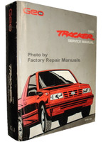 1992 Geo Tracker Factory Service Manual