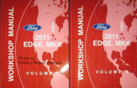 2011 Ford Edge Lincoln MKX Workshop Manuals