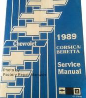 1989 Chevy Corsica / Beretta Service Manual