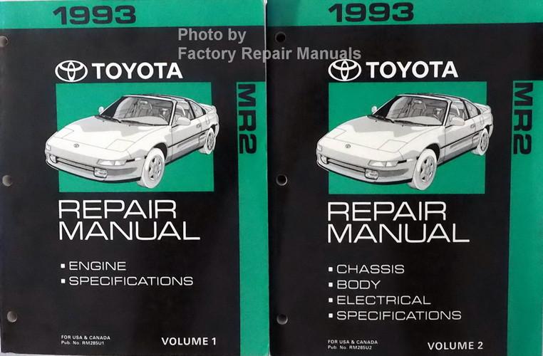 mr2 1994 service manual free owners manual u2022 rh wordworksbysea com 2019 Toyota MR2 Spyder 2003 toyota mr2 spyder repair manual pdf