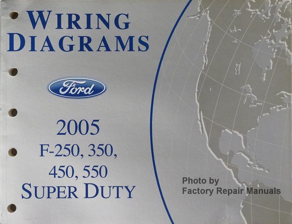 2005 Ford Super Duty Wiring Diagrams - Custom Wiring Diagram •
