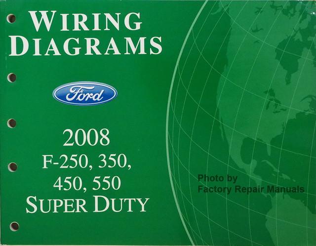 2008 ford f250 f350 f450 f550 super duty truck electrical wiring rh factoryrepairmanuals com 2006 Ford Super Duty 2009 Ford Super Duty