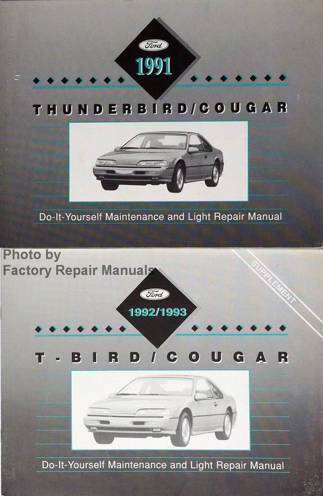 1991 1993 ford thunderbird and mercury cougar maintenance light 1991 1993 ford thunderbird and mercury cougar maintenance light repair manual solutioingenieria